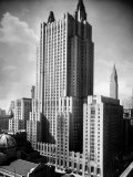 Exterior of Waldorf Astoria Hotel Premium Photographic Print by Alfred Eisenstaedt