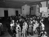 Teenagers of a Small Coal Mining Town Having a Dance in the High Scool Gym Premium Photographic Print by Alfred Eisenstaedt