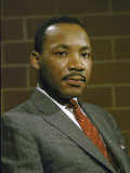 Portrait of Rev. Martin Luther King, Jr Fotografisk trykk