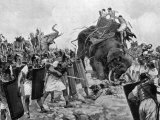 Battle of Zama During Second Punic War Premium Photographic Print