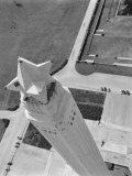 Aerial Shot of San Jacinto Monument. 1952 Houston, Texas Premium Photographic Print by Margaret Bourke-White