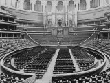 Excellent Interior of Albert Hall, One of England's Most Famous Concert Halls Premium Photographic Print