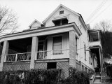 Childhood Home of Mass Murdering Cult Leader Charles Manson Premium Photographic Print