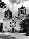 Exterior of the Mission Conception Near San Antonio, also known as the Alamo Photographic Print by Carl Mydans