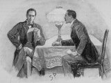 Adventures of Sherlock Holmes in the Strand Magazine, The Adventure of the Gloria Scott Premium Photographic Print