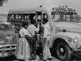 Re: School Segregation Fort Worth, Texas Premium Photographic Print