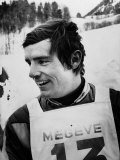 Champion Skiier Jean Claude Killy Photographic Print