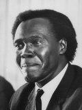Pres. Milton Obote of Uganda Premium Photographic Print