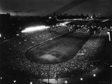 Night Time Crowd Filling Soldier's Field Photographic Print