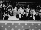 Pres. Richard M. Nixon and Wife Patricia Attending His Inaugural Ball Premium Photographic Print