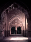 Harem Quarters of the Alhambra Premium-Fotodruck von Dmitri Kessel