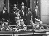 Nikita S. Khrushchev, During the Geneva Conference Premium Photographic Print