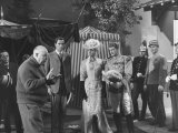 "French Directorjean Renoir Directing Actress Ingrid Bergman in ""Elena Et Les Hommes"" Premium Photographic Print"