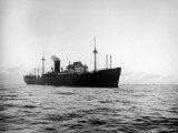 German Raider Ship Tamesis Premium Photographic Print