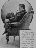 Adventures of Sherlock Holmes in the Strand Magazine, The Red-Headed League Premium Photographic Print