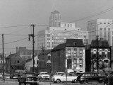 Slum District of the City Premium Photographic Print