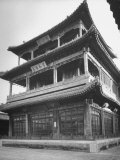 An Amusement Hall or Theatre in the Forbidden City Premium Photographic Print by Dmitri Kessel