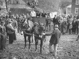 Quaker Farm Auction Premium Photographic Print