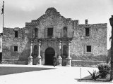 Exterior of the Alamo Premium Photographic Print by Carl Mydans