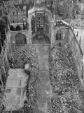 Ruins of Coventry Cathedral after Bombing by Germans During WWII Photographic Print