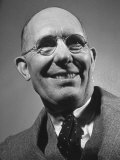 Smiling Portrait of Inventor Charles F. Kettering at Life Conference Premium Photographic Print by Hansel Mieth