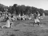 Wacs Playing Game of Softball Reproduction photographique