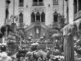 Garden of Isabella Stewart Gardner's Home Premium Photographic Print