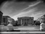 Exterior of the Harvard Medical School Premium Photographic Print by Hansel Mieth