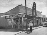 Tombstone Drug Store Photographic Print by Peter Stackpole