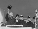 Inauguration Ceremony of President Franklin D. Roosevelt Premium Photographic Print