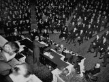 President Franklin D. Roosevelt Speaking at a Joint Session of Congress Premium Photographic Print