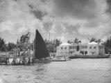 Royal Nassau Sailing Club Photographic Print