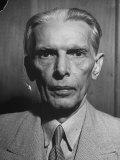 Mohammed Ali Jinnah Premium Photographic Print