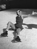 Ice Skating Fashions Premium Photographic Print by Peter Stackpole