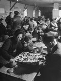 Japanese Go Game Being Played at Alien Relocation Camp Photographic Print by Hansel Mieth