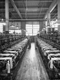 Men Working in a Factory Premium Photographic Print by Carl Mydans