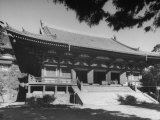 Exterior of Jingo-Ji Temple Premium Photographic Print by Dmitri Kessel
