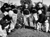 Football Team for the Boilermakers' Union Premium Photographic Print by J. R. Eyerman