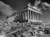 The Ruins of the Ancient Parthenon Photographic Print