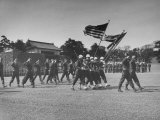 US Military on Parade Premium Photographic Print by Alfred Eisenstaedt