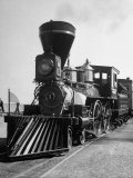 """William Crooks"" of Great Northern's St. Paul and Pacific Railroad at the Chicago Railroad Fair Lámina fotográfica"