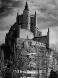 Exterior of Segovia Castle Premium Photographic Print by Dmitri Kessel