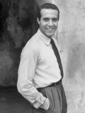 Portrait of Actor Ricardo Montalban Premium Photographic Print by Alfred Eisenstaedt