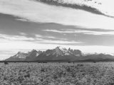 Groundlevel Views of Great and Vast Andes Mountain Range Premium Photographic Print