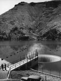 The Top of the Owyhee Dam on the Owyhee River Premium Photographic Print by Alfred Eisenstaedt