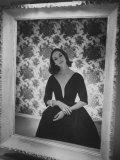 Evening Dress Designed by a California Designer Photographic Print