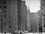 Peter Stuyvesant Village Housing Project Photographic Print by Andreas Feininger