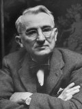 Dale Carnegie Photographic Print by Alfred Eisenstaedt