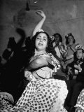 Granada Gypsy Dancer Premium Photographic Print by Dmitri Kessel