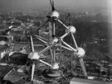 Atomium, Symbol of Brussels World's Fair Photographic Print